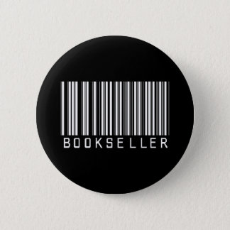 BAR BOOKSELLER DARK 2 INCH ROUND BUTTON