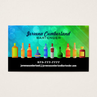 Bar Business Cards