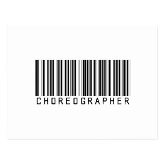 BAR CHOREOGRAPHER LIGHT POSTCARD
