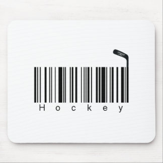 Bar Code Hockey Mouse Pad