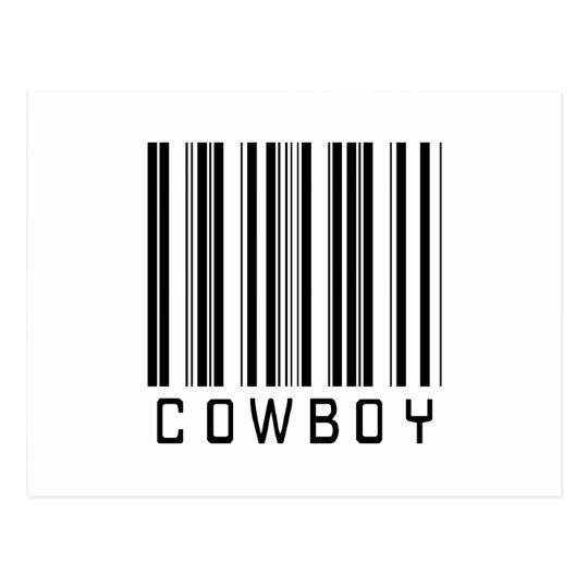 BAR COWBOY LIGHT POSTCARD