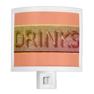 """Bar"" Drinks*_Peach Night Lights"