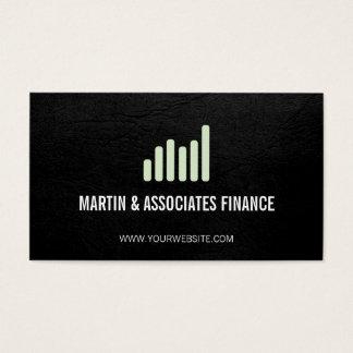 Bar Graph | Mint Business Card
