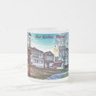 Bar Harbor, Maine Frosted Mug