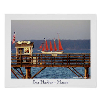 Bar Harbor - Maine Poster