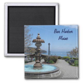 Bar Harbor, Maine Square Magnet