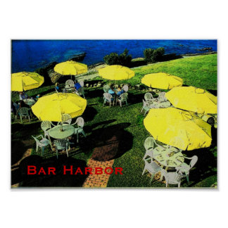 Bar Harbor Poster