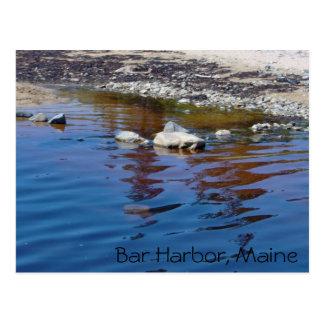 Bar Harbor - Rock Postcard