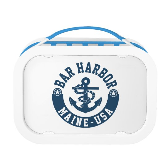 Bar Harbour Maine USA Lunch Box