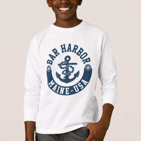 Bar Harbour Maine USA T-Shirt