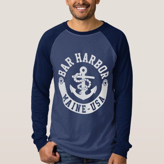 Bar Harbour Maine USA T-Shirt