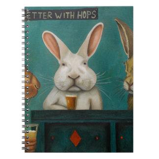 Bar Hopping Notebooks