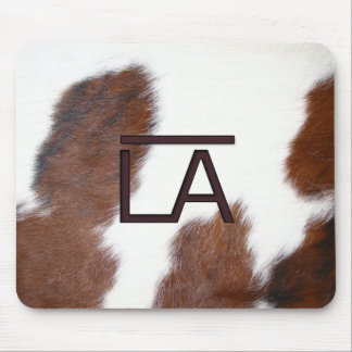 Bar LA Horse Cow Brand Mouse Pad