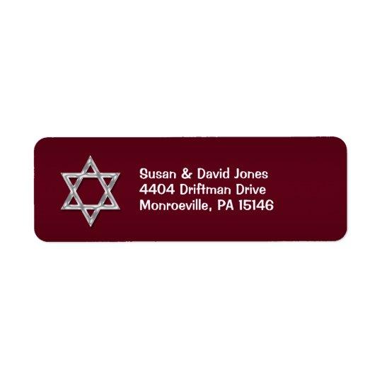 "Bar mitzvah celebrations ""return address"""
