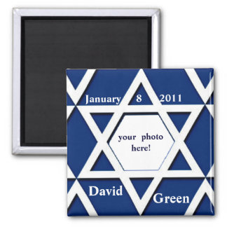Bar Mitzvah Photo Save the Date Magnet