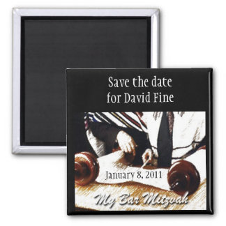 Bar Mitzvah Save the Date Magnet
