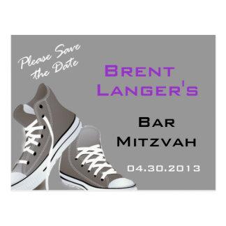 Bar Mitzvah Shoes Postcard