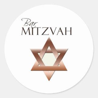 Bar Mitzvah stickers
