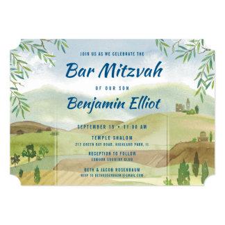 Bar Mitzvah Vista Card