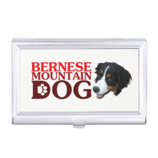 Bar needs mountain dog business card holder