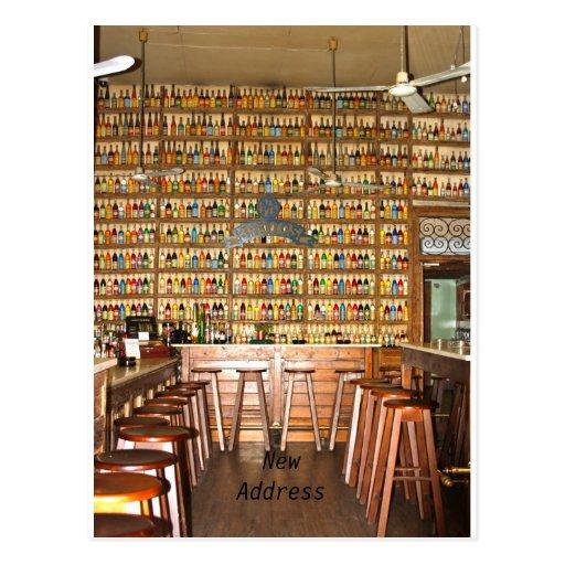Bar NewAddress Post Card Post Card