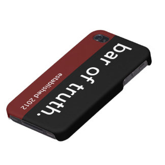 Bar of Truth iPhone 4/4s Case