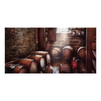 Bar - Wine - The Wine Cellar Photo Card