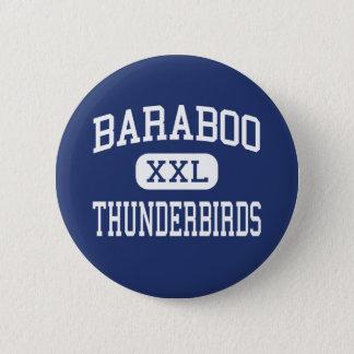 Baraboo Thunderbirds Middle Baraboo 2 Inch Round Button