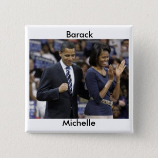 Barack and Michelle Obama Button