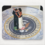 Barack and Michelle Obama dancing Inaugural Ball Mouse Pads