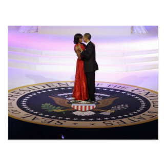 Barack and Michelle Obama Postcard