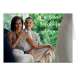 Barack and Michelle Wedding - Card