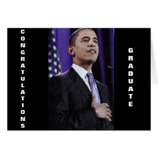 BARACK ANYTHINGS POSSIBLE GRADUATE card