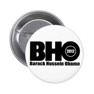 Barack Hussein Obama 2012 for president Pins