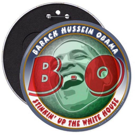 Barack Hussein Obama Button