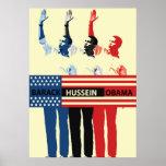 Barack Hussein Obama Poster