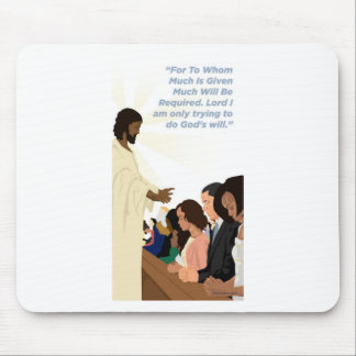 Barack Jesus Products Mouse Pad