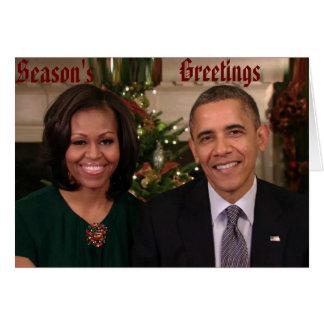 Barack & Michelle 2012WA-Greeting Card