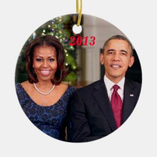 Barack & Michelle 2013 - Ornament