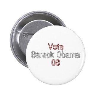 Barack Obama 08 Pinback Buttons