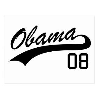 Barack Obama 2008 Jersey Postcard