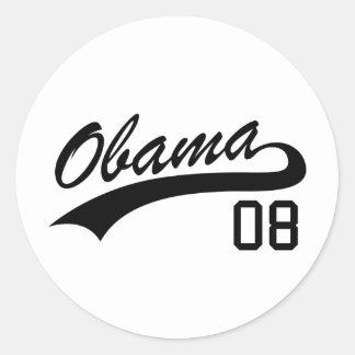 Barack Obama 2008 Jersey Sticker