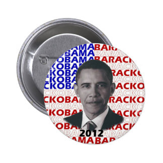 Barack Obama 2012 2 Inch Round Button
