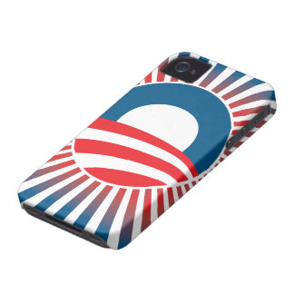 Barack Obama 2012 Rays of Hope iPhone 4 Case