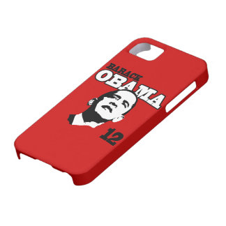 Barack Obama 2012 (Red) iPhone 5 Case