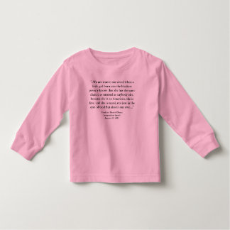 Barack Obama - 2013 Inauguration Speech Toddler T-shirt