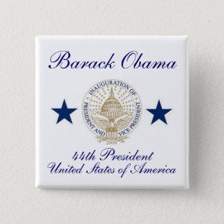Barack Obama 2 Inch Square Button