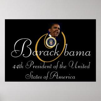 """Barack Obama 44th President 52""""x35"""" Commemorative Poster"""