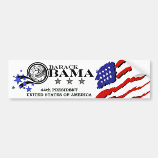 Barack Obama 44th President Bumper Sticker