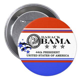Barack Obama 44th President Pinback Button